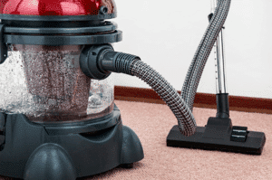 to maintain your vacuum cleaner, you'll need to continually clean it out, to reduce the chances of overheating, blowing out dust