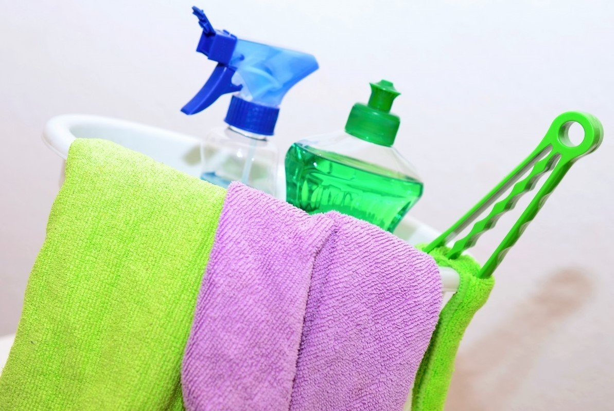 check what you need to help you clean your house